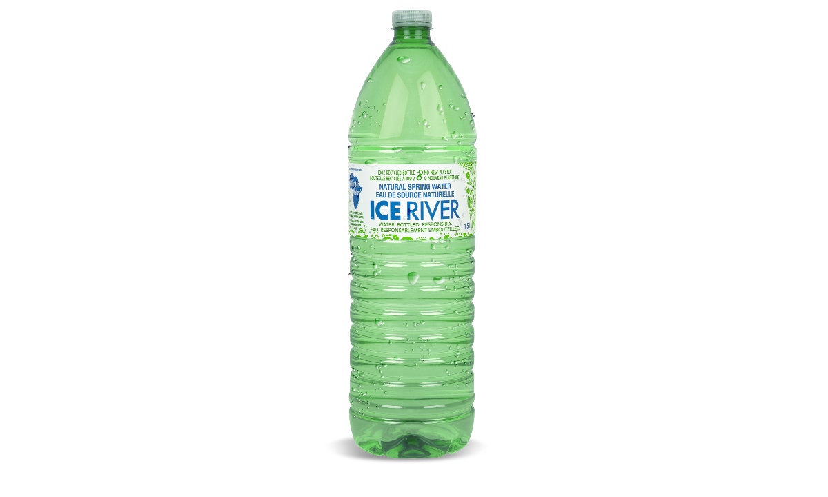 Ice River Springs - Water  Bottled  Responsibly